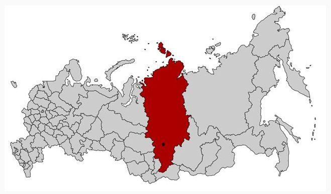 Свердловская область с центром
