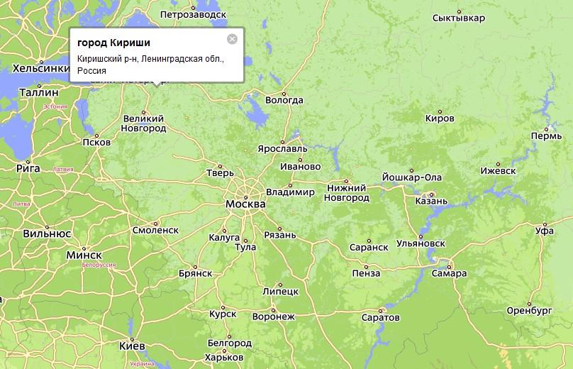 В России в Ленинградской