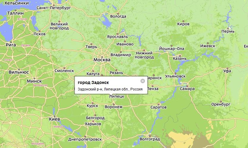 Задонск получил статус города