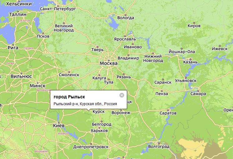 Рыльского района Курской