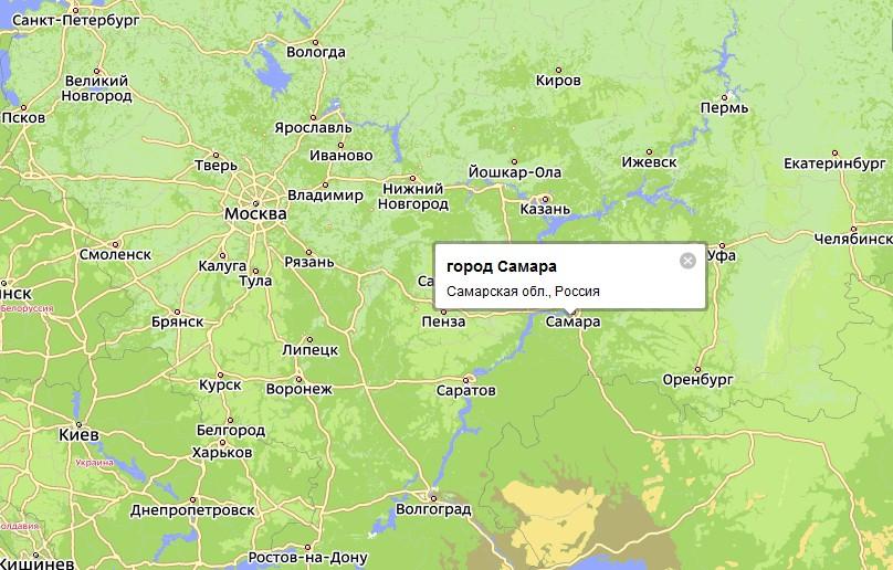 Карта Самары С Номерами Домов