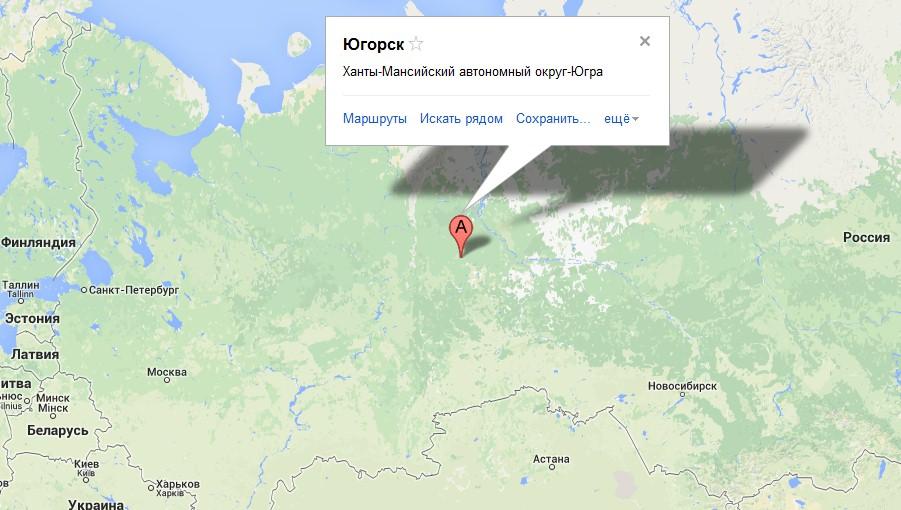 Советский хмао где находится