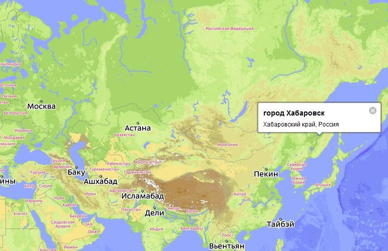 Карта города симферополя с