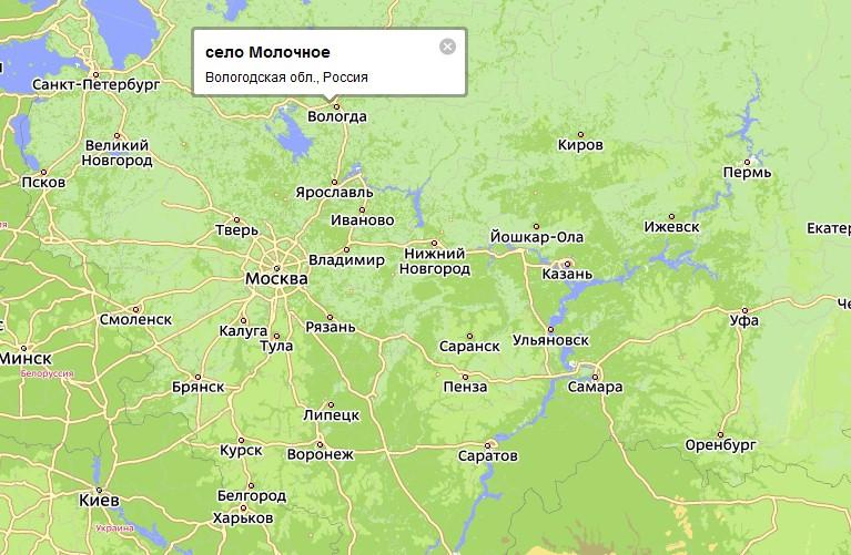 в 7 км от города Вологда,