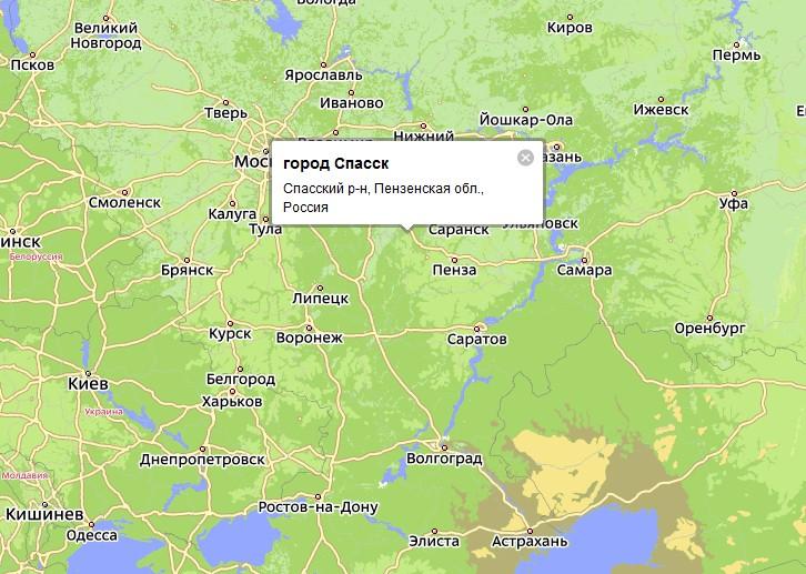 Город Спасск – центр Спасского