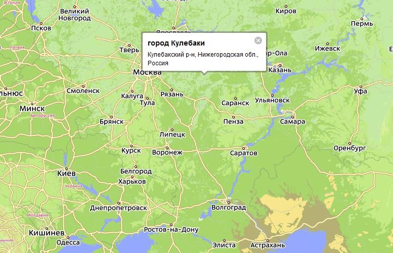 кулебаки нижегородской области знакомства