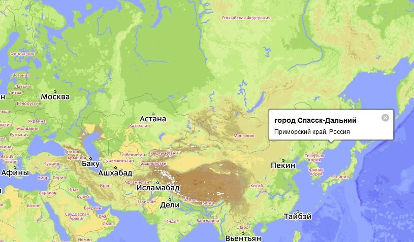 знакомства в приморском крае город спасск дальний