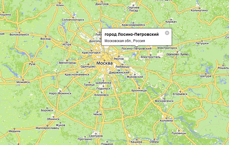Основан в 1708 году в 52 км от