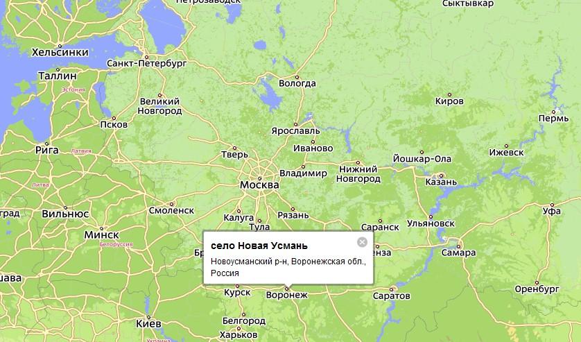 района Воронежской области