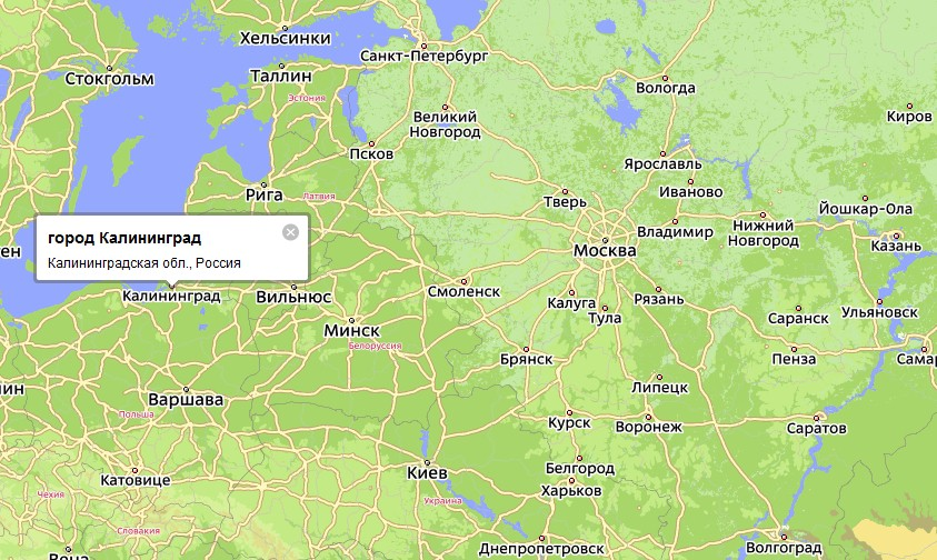 карта г гусев калининградская область ул московская 27 сделать ошибку необходимо