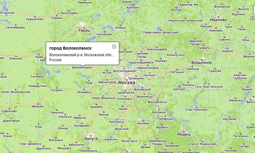 Волоколамского района