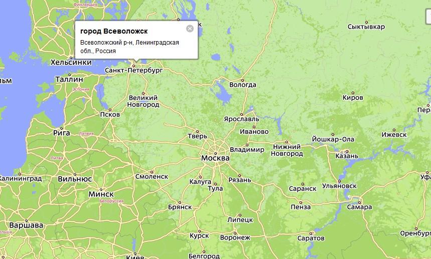 центр Всеволожского района
