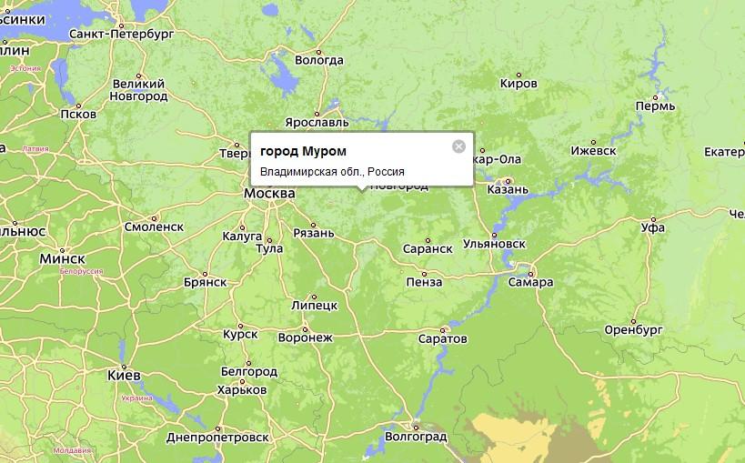 Муром — город во Владимирской