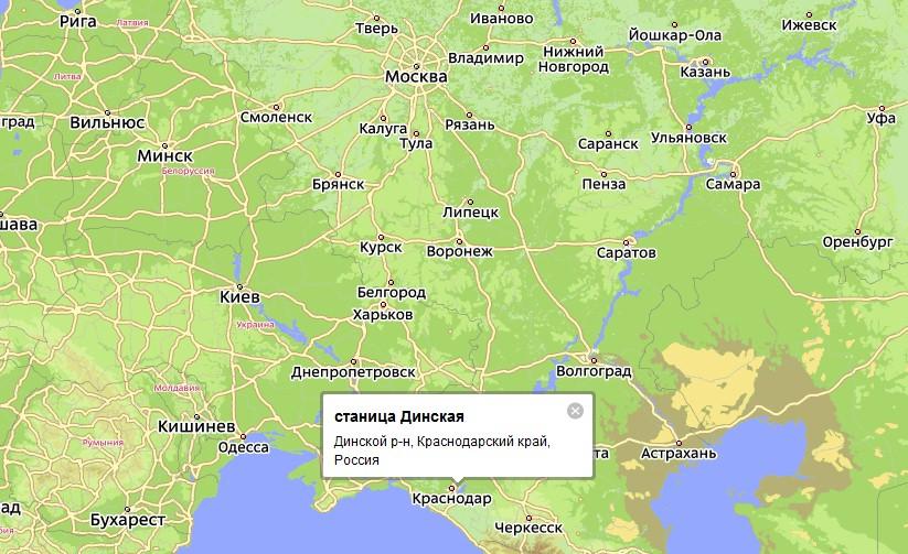 реки Кубань и Кочеты.