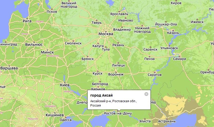 Карта Города Миллерово С Улицами Со Спутника