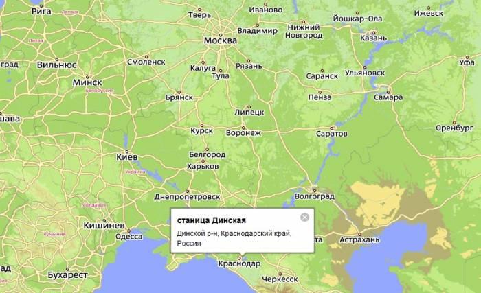 Карта Г.Запорожья Улицами