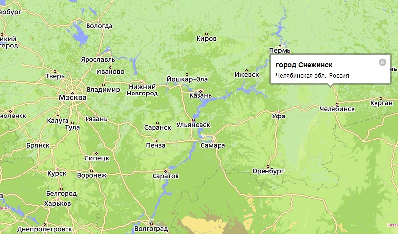 Карта Миасса подробная - улицы, номера домов, районы ...