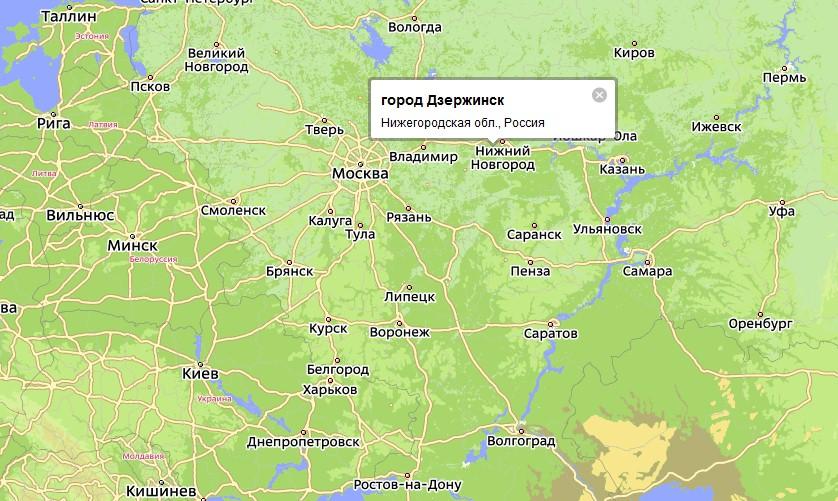 Где находится нижегородская обл