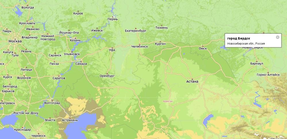 Карта города Нарьян-Мар мы