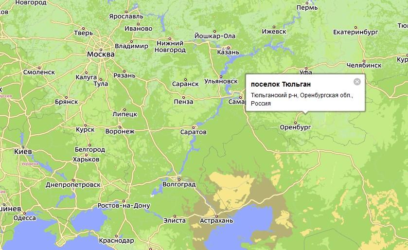 карта Хадыженска позволяет
