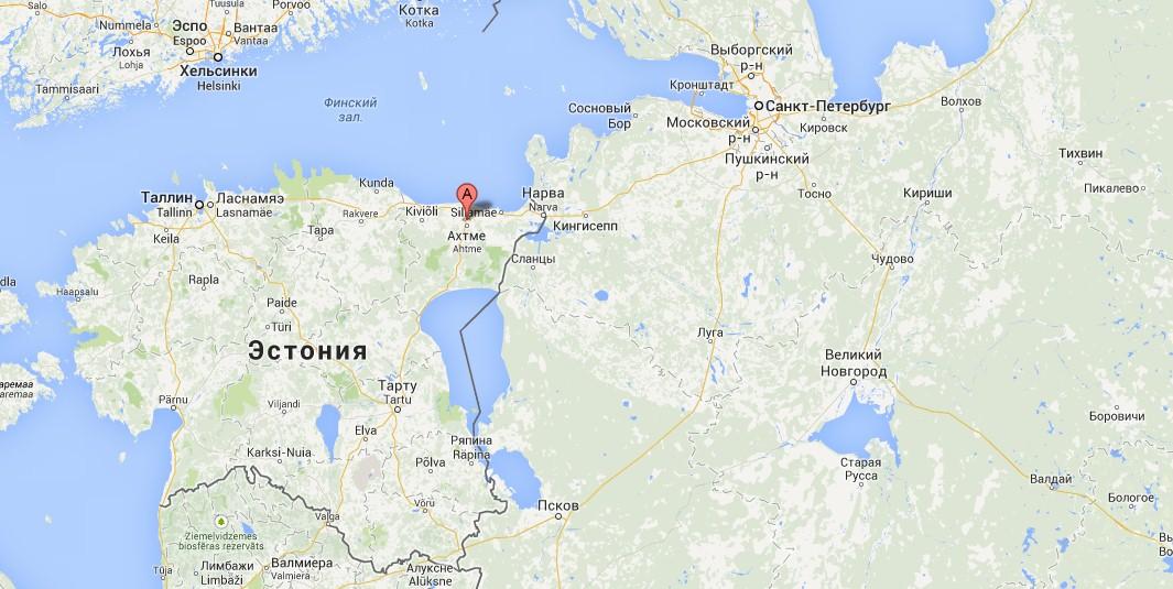 Йыхви – город в Эстонии,