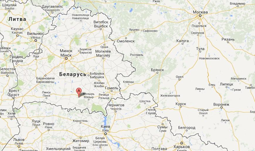 Минска и 190 км от Гомеля.