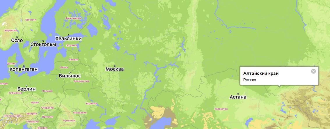 считается город Барнаул.