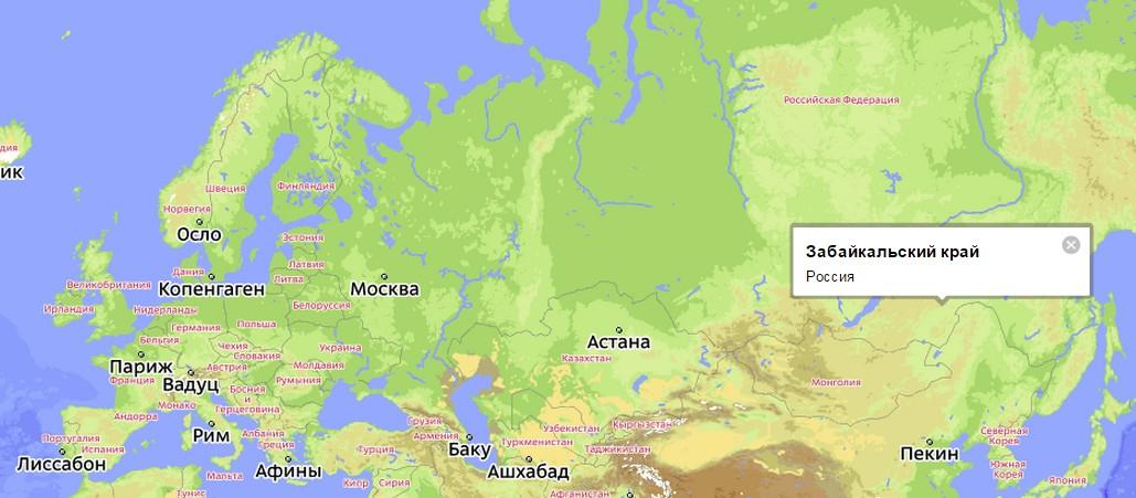 жителей Читинской области