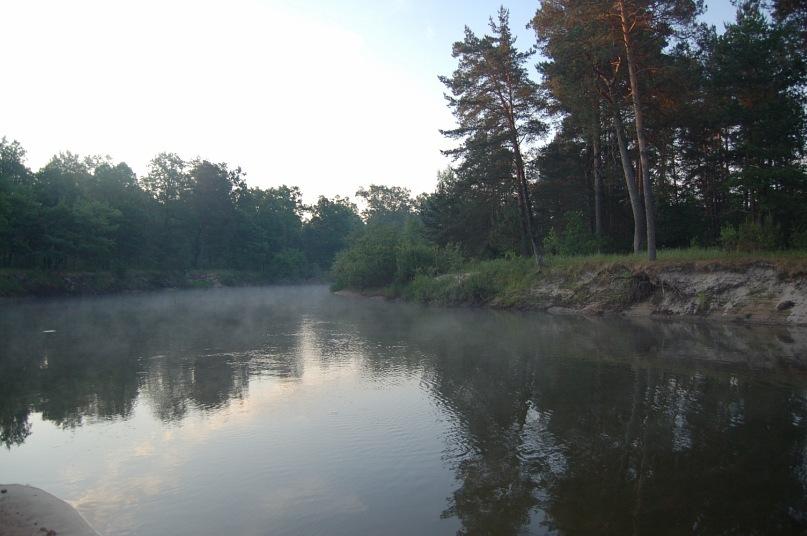 Рыбалка на реке случь
