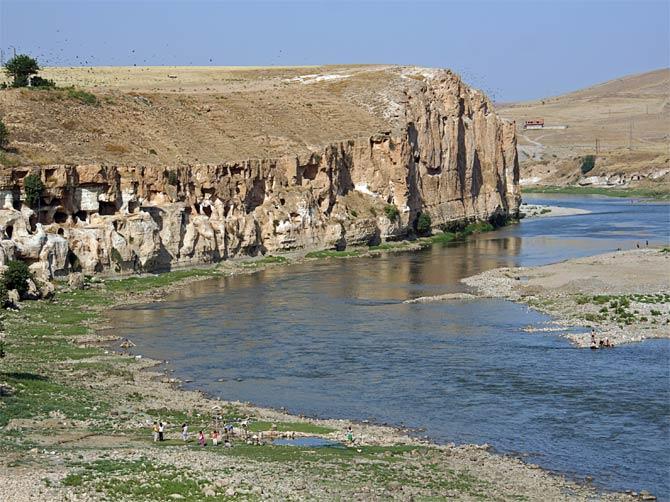 Река Тигр на карте