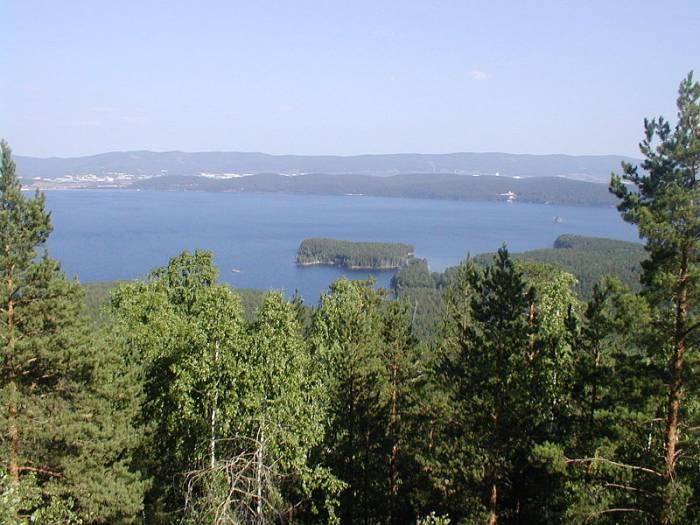 Озера Челябинской области на карте