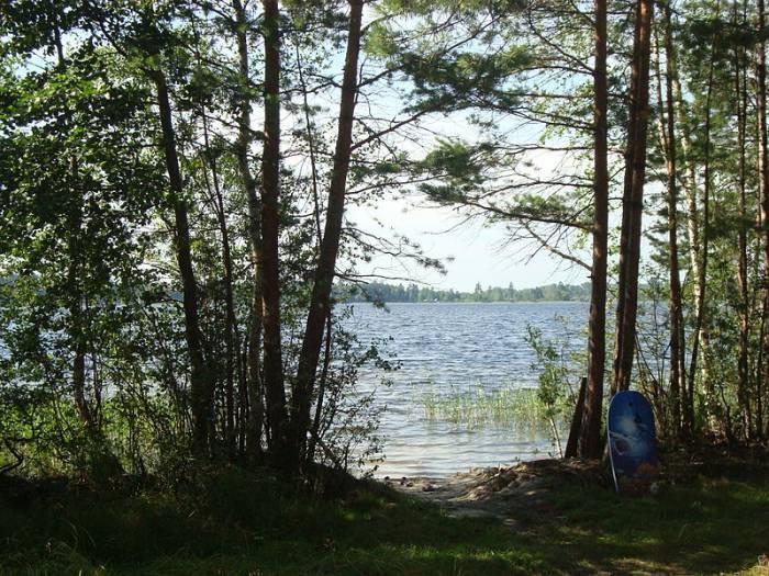 Озера Ивановской области на карте
