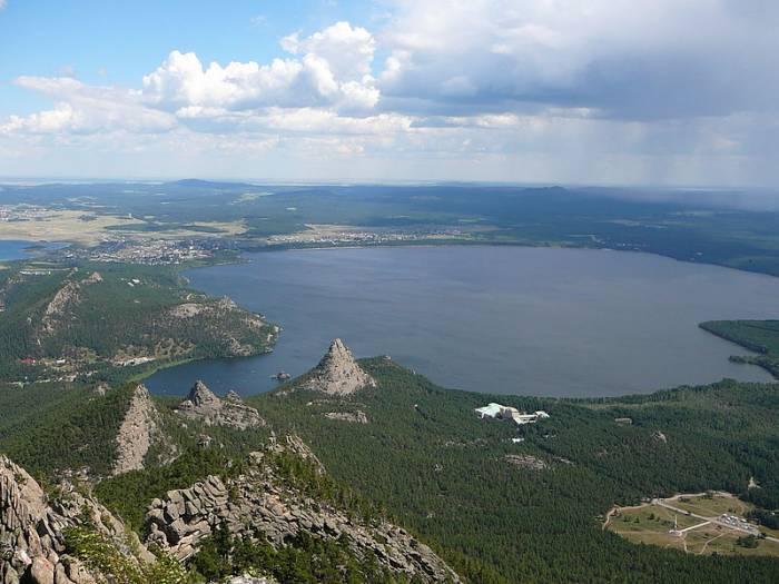 Озеро Боровое на карте