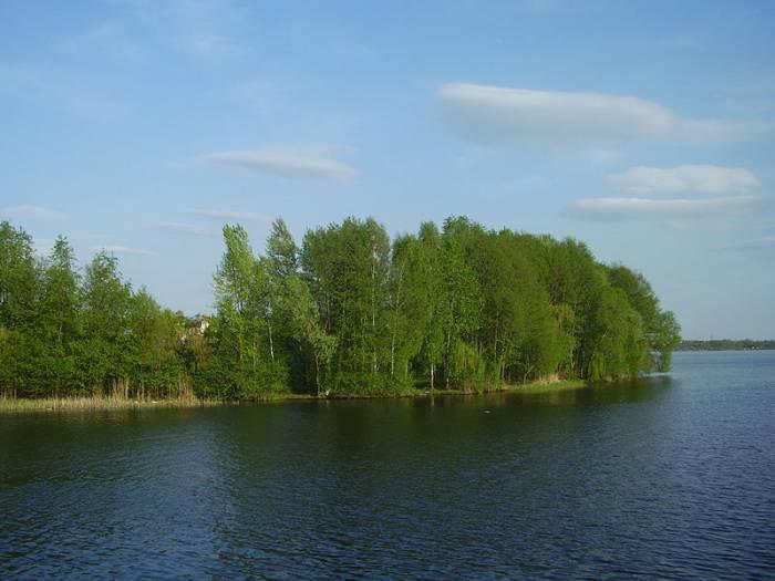 Река Воронеж на карте