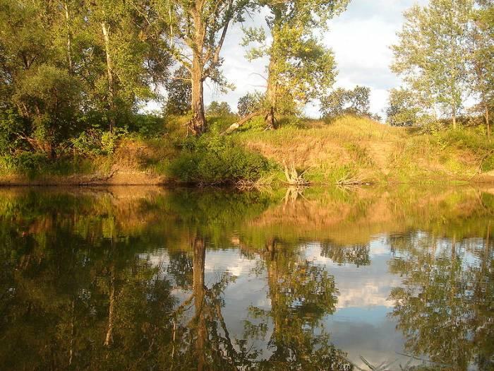 Река Дёма на карте