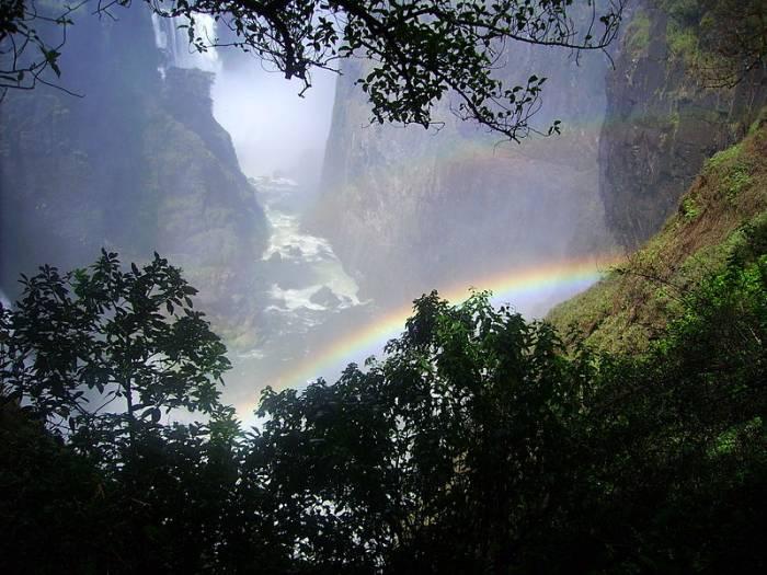 Водопад Виктория на карте