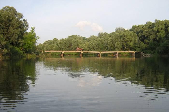 Река Сейм на карте