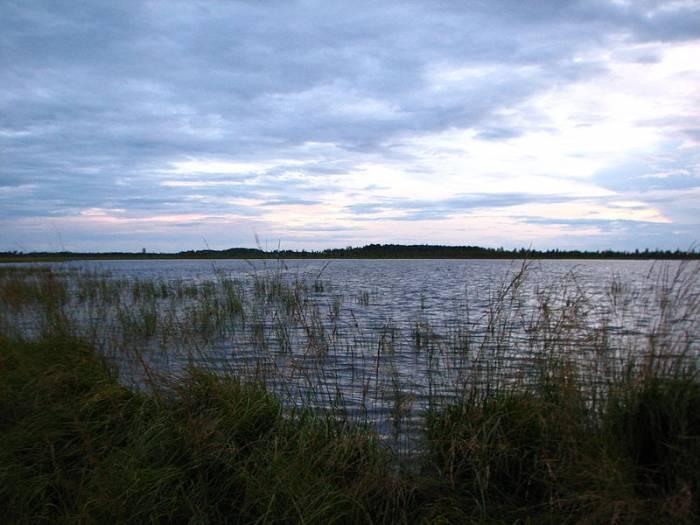Лужские озера на карте