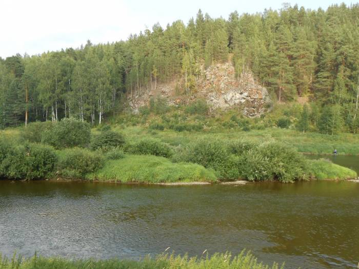 Река Тагил на карте
