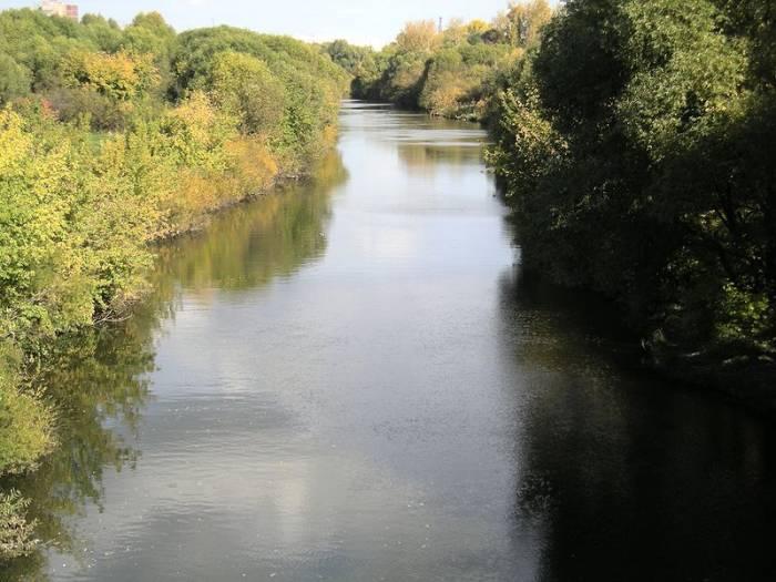 Река Свияга на карте