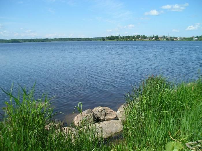 Вологодские озера на карте