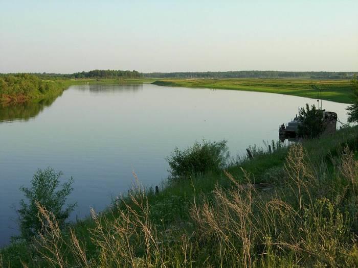 Река Сосьва на карте
