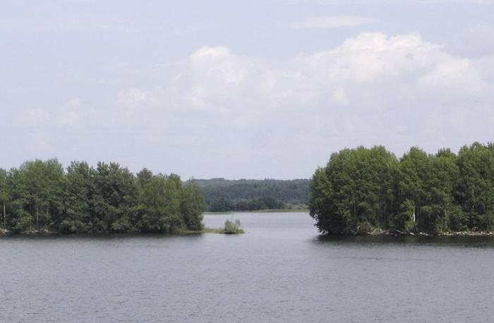 Озеро Онежское на карте