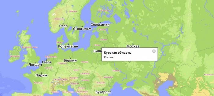 собрал курск на карте россии картинки могут установить