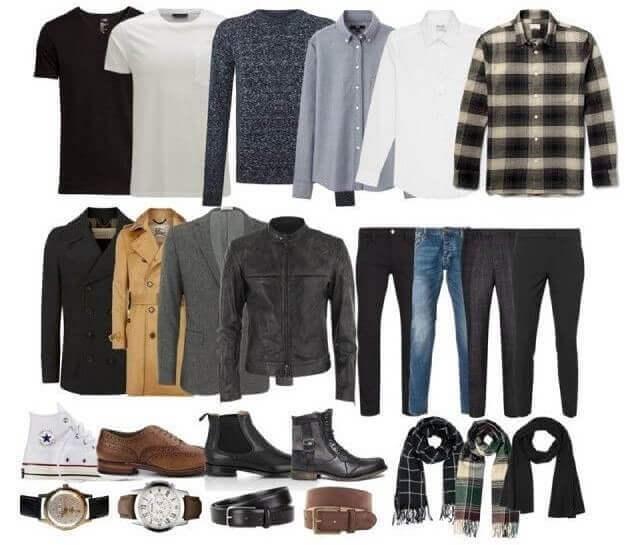 10 элементов мужского гардероба