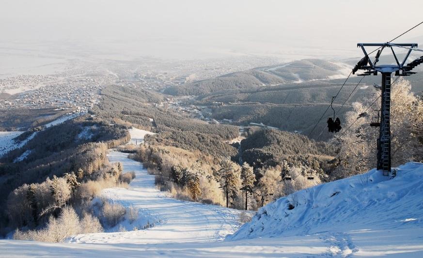 Белокуриха – уникальное место для здорового активного зимнего отдыха